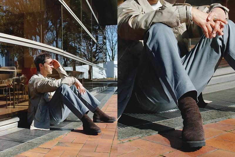 nonnative x Guidi Back Zip Horse Leather Boots collaboraton collection brown beige release date buy info price COVERCHORD 788V BABY BUFFALO REVERSE