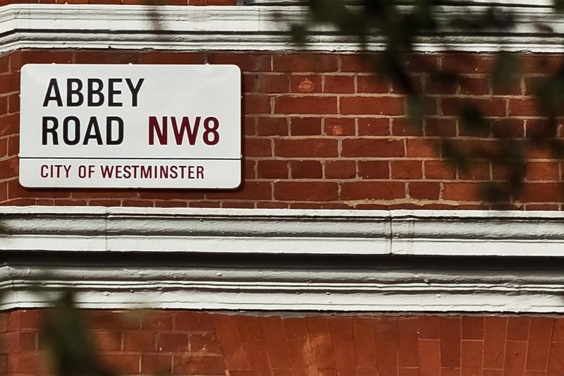 Abbey Road Sign Up for Auction Westminster City Council the beatles