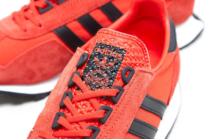 adidas Originals Racing 1 Red FY3669 Sneaker Release Information 1970s Archive Running Shoe Field Track OG Three Stripes Classic Closer Look Drop Date size?