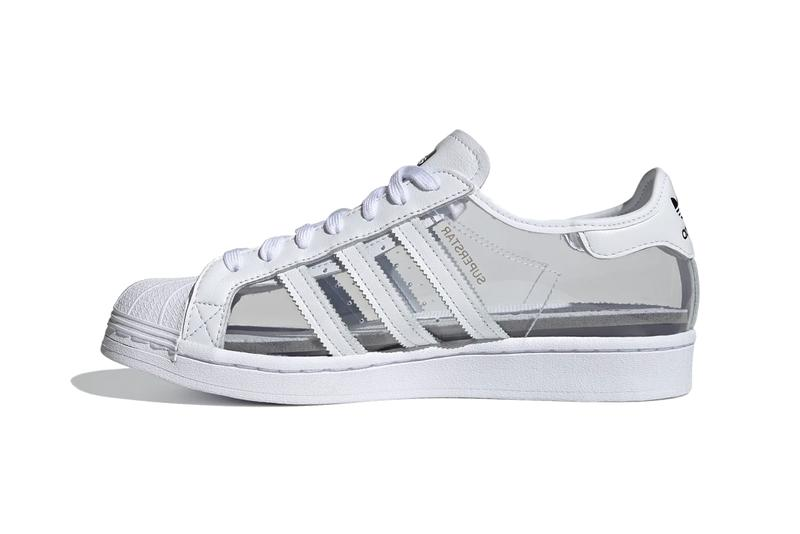 adidas originals superstar see through translucent blondey mccoy cloud white grey FZ0245 official release date info photos price store list buying guide