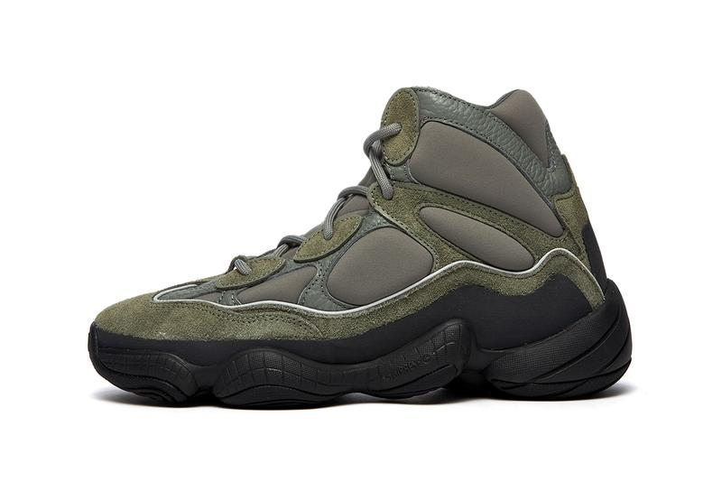 adidas yeezy 500 high mist slate GY0393 release info date photos price store list buying guide kanye west