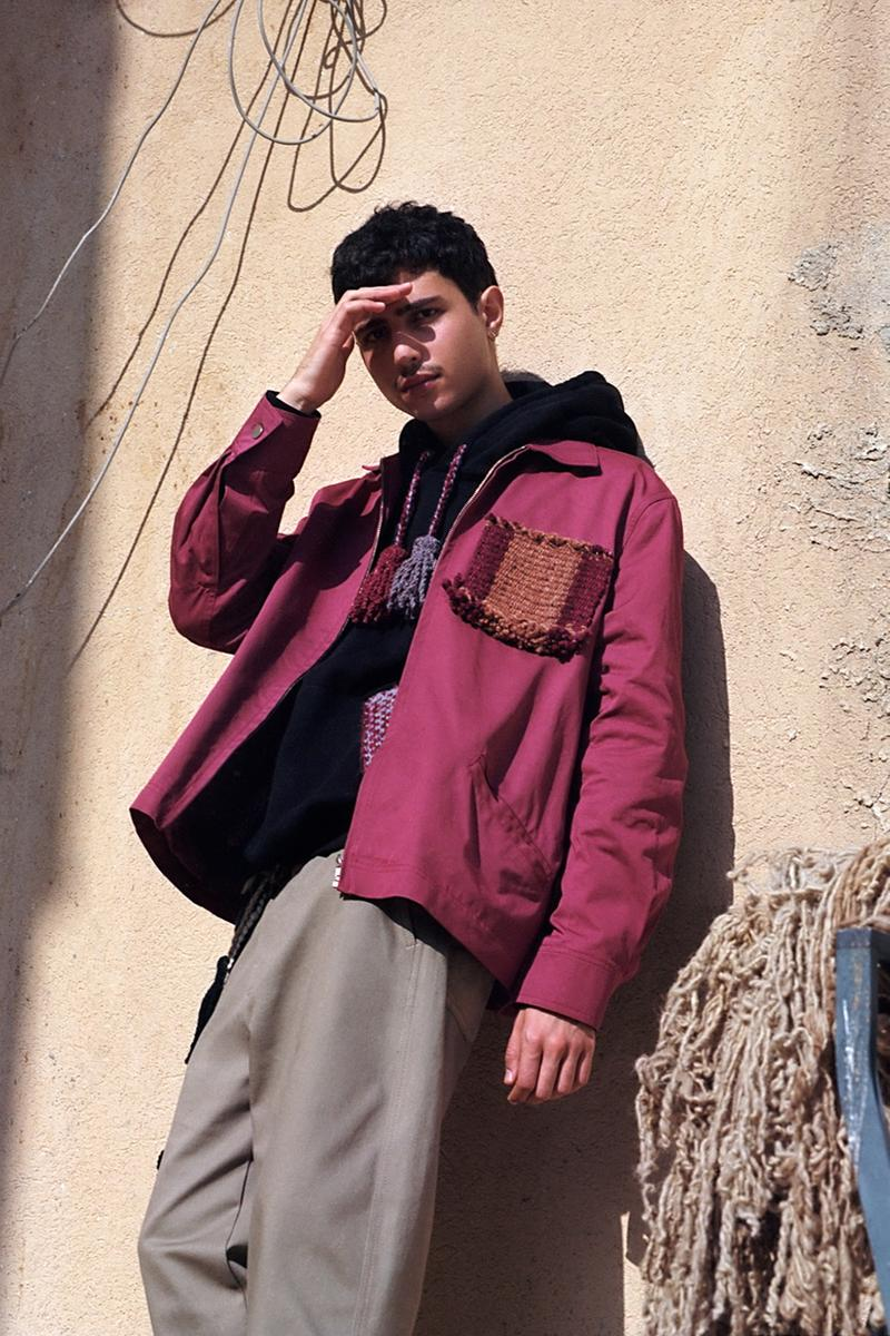 adish fall winter 2021 collection lakiya bedouin dover street market release details information