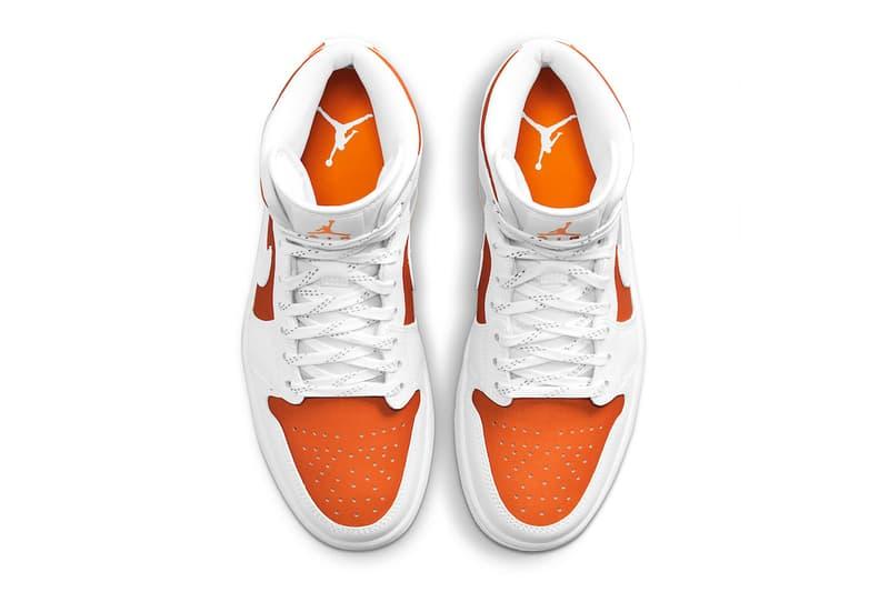 Air Jordan 1 Mid SE Bright Citrus Release Info cz0774-800