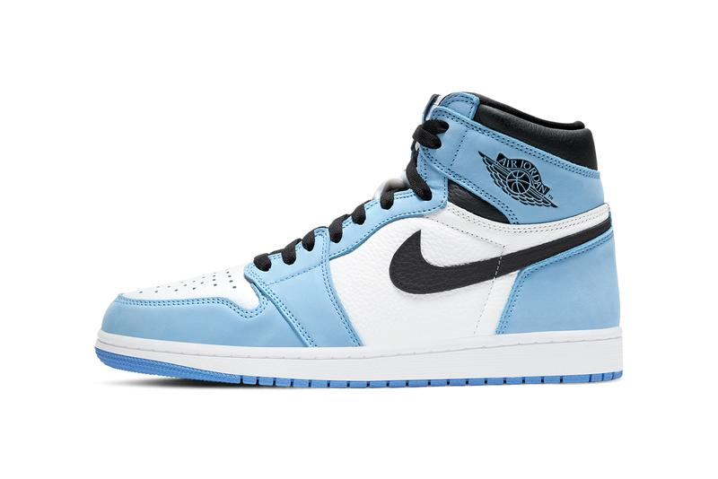 air michael jordan brand 1 university blue white black 555088 134 official release date info photos price store list buying guide