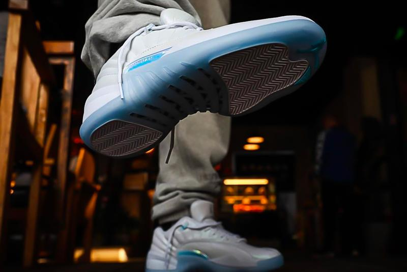 air michael jordan brand 12 low easter db0733 190 white multicolor iridescent ice blue official release date info photos price store list buying guide