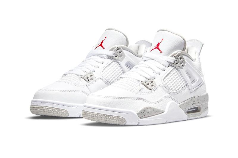 Air Jordan 4 White Oreo Official Look Release Info ct8527-100 Date Buy Price