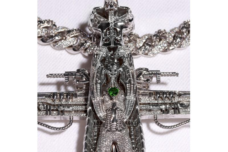 Alex Moss New York Crafts Bloody Osiris Biomechanical Chain Photos Info