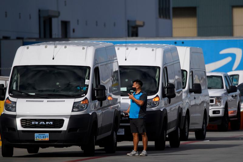 amazon ai powered cameras drivers delivery vans technology surveillance