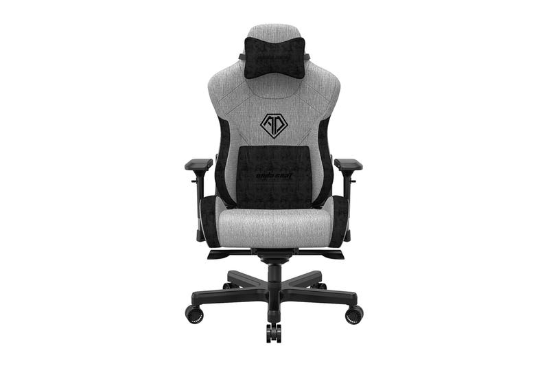 AndaSeat T-Pro 2 Series Premium Gaming Chair Accessory Range Release Natural Bamboo Charcoal Seat Mat Luxurious Footrest