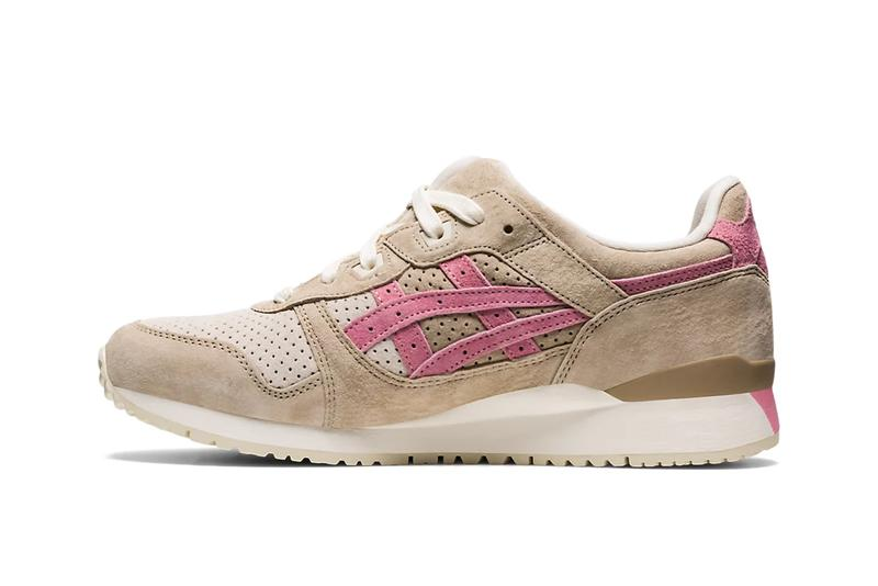 asics gel lyte 3 kadomatsu pack wood crepe plum blossom misty pine seafoam release info store list buying guide photos