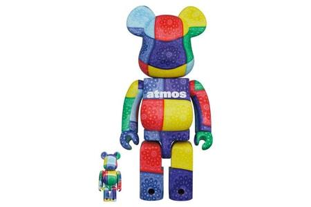 atmos and Medicom Toy's Latest BE@RBRICKs Offer Bold Bandanna Prints