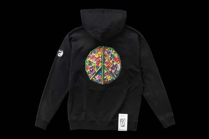 Azuma Makoto PEACE AND AFTER Flower Peace Hoodie Release Info