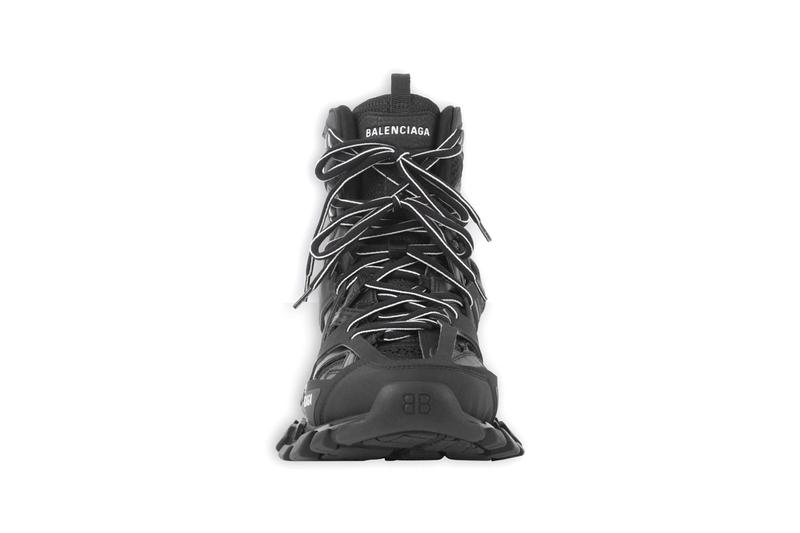 Balenciaga Track Hike Sneaker Boot Hybrid High Top New Footwear Shoe Trainer Design Demna Gvasalia Luxury Limited Edition Sold Out Nylon Mesh Dynamic Sole Unit BB