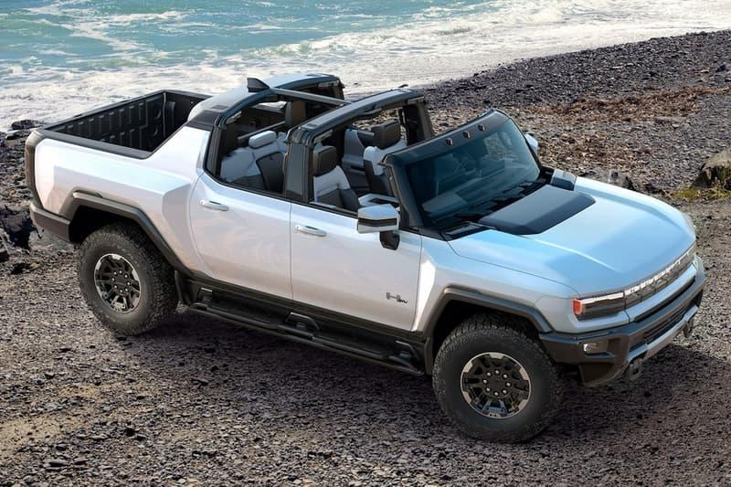 gmc general motors hummer ev electric car vehicle 2022 barrett jackson charity auction first retail production model vin001