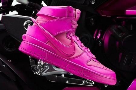 "AMBUSH and Nike's Motorsport-Inspired Dunk High ""Cosmic Fuchsia"" Revs Up This Week's Best Footwear Drops"