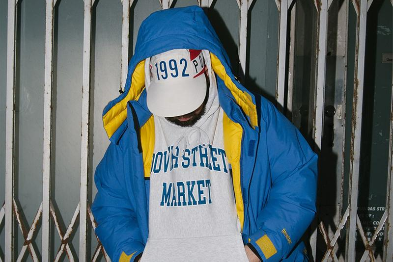 Better™ Gift Shop Spring/Summer 2021 Collection Dover Street Market Ginza Collaboration Hoodies Collegiate Sweater SS21 Avi Gold Face Oka