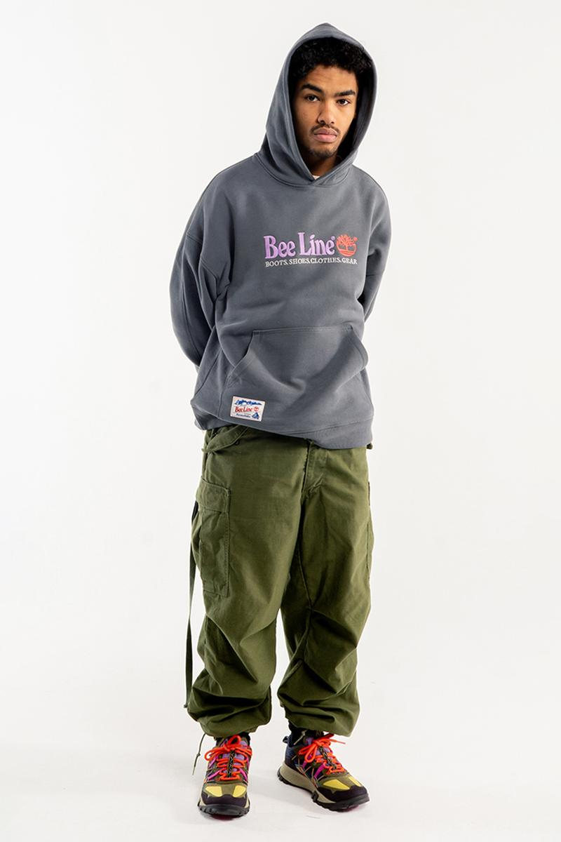 bbc billionaire boys club bee line timberland garrison trail hiking shoe high low yellow green blue purple tan t shirt hoodie hat official release date info photos price store list buying guide gore tex