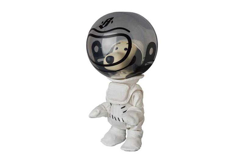 Billionaire Boys Club Medicom Toy VCD Astronaut Snoopy figures toys accessories japanese nasa mascot pharrell williams bbc info