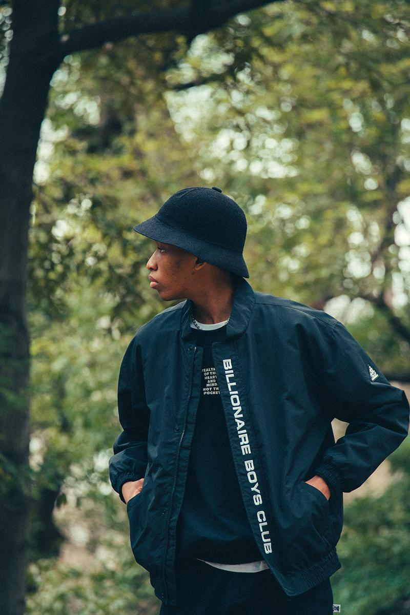 Billionaire Boys Club Spring Summer 2021 Lookbook menswear streetwear collection ss21 hoodies sweaters shirts tees t shirts pants trousers graphics hats info