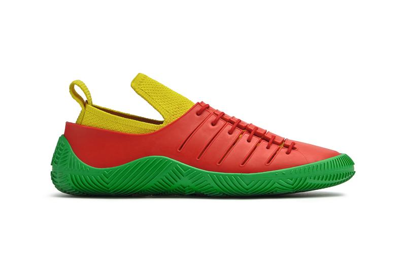 Bottega Veneta Puddle Boot Sandal Mule Biodegradable Polymer Barefoot Second Skin Slim Fitting Sneaker Design Mens Womens Daniel Lee Salon 01 Collection