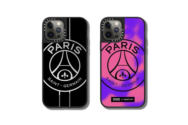 CASETiFY x Paris Saint-Germain iPhone case accessories AirPods cases PSG