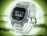 Casio G-SHOCK Introduces New Transparent DW-5600 Watch