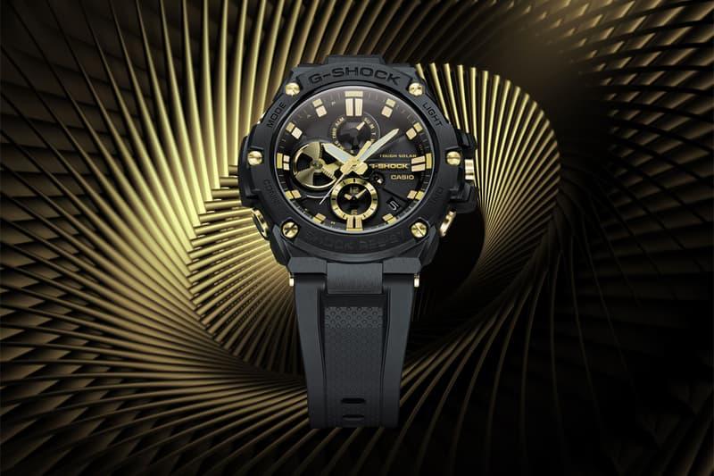 casio digital quartz watches accessories g shock gsteel gstb100gc1a Japan Casio watches