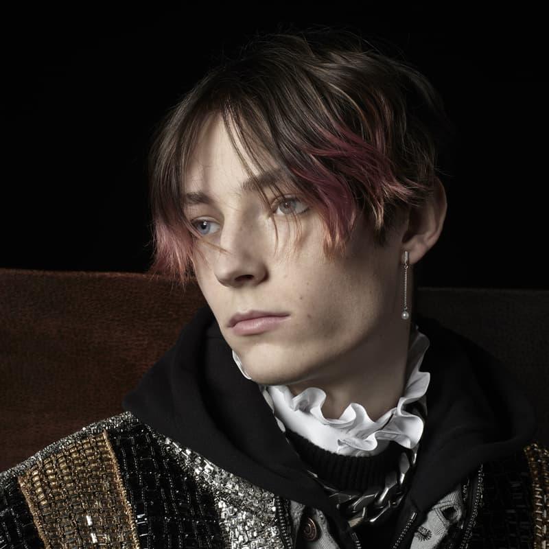 CELINE Fall/Winter 2021 Collection Lookbook menswear hedi slimane teen knight poem NOUVEAU ROMANTIQUE