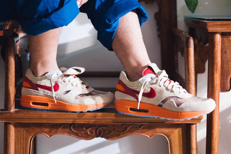 CLOT Nike Air Max 1 Kiss of Death Campaign Launch Release Info dd1870-100 Official Look Buy Price Edison Chen Kevin Poon