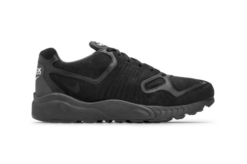 COMME des GARÇONS BLACK x Nike Air Zoom Talaria Official Collaboration Release Information First Look Drop Date Footwear Sneaker Shoe Swoosh Blacked-Out Murdered Rei Kawakubo Limited Edition CDG Tinker Hatfield 1997