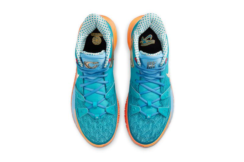 concepts nike basketball kyrie irving 7 blue gold red orange egyptian CT1137 900 official release date info photos price store list buying guide