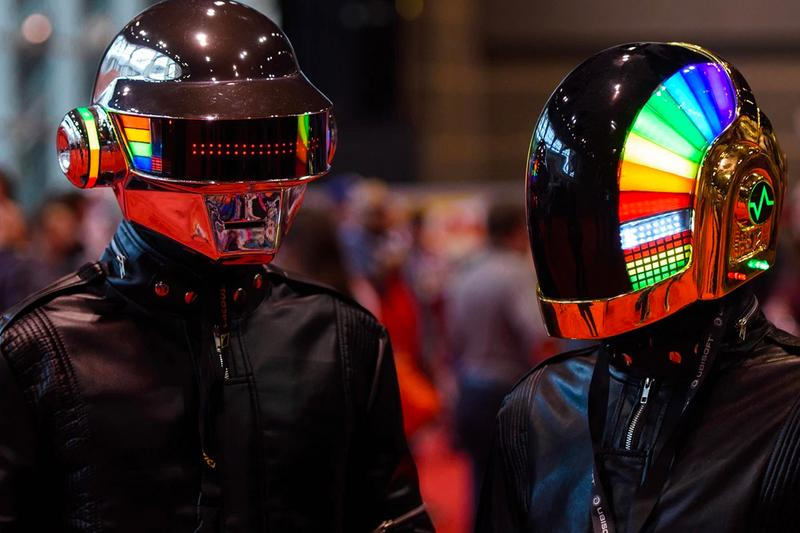 Daft Punk Unpublished Interview Coachella Kanye West Billboard Unpublished Interview Daft Punk Breakup French duo Epilogue Human After All EDM Electronics Synthesizers DJ Kanye West Stronger Harder, Better, Faster, Stronger