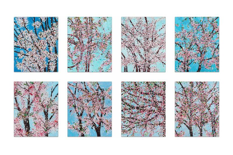 damien hirst cherry blossom prints leviathan heni editions collections