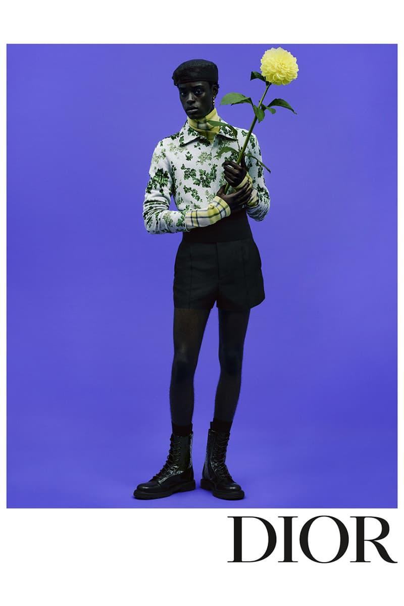 Dior Summer 2021 Menswear Collection Campaign amoako boafo collaboration spring ss21 kim jones artist painter look