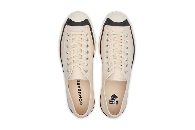 dover street market converse jack purcell parchment black release info date store list buying guide