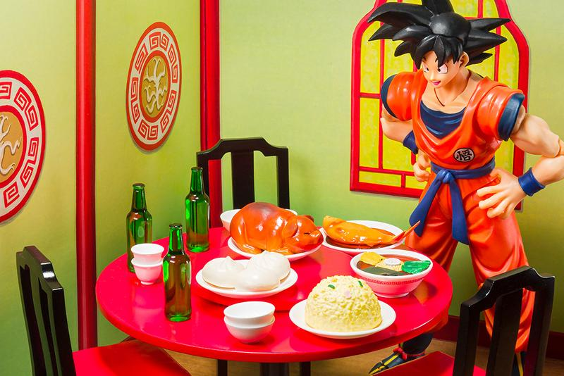 Dragon Ball Goku S.H. Figuarts Belly Eighth Minute Set