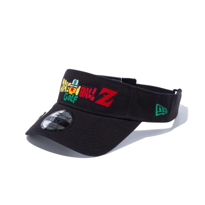 'Dragon Ball Z' x New Era Golf Headwear Collaboration collection 59 fifty visor sweat goku porunga shenron