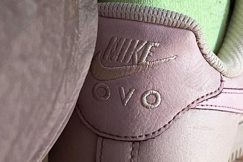 Drake OVO Nike Air Force 1 Collab Teaser First Look Info Release