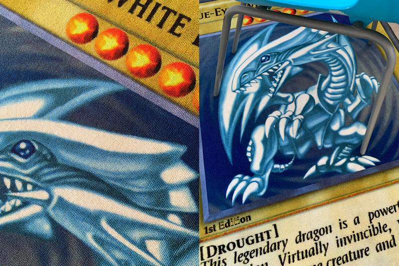 Drought Yu-Gi-Oh! Blue Eyes White Dragon Rug Release Info Buy Price