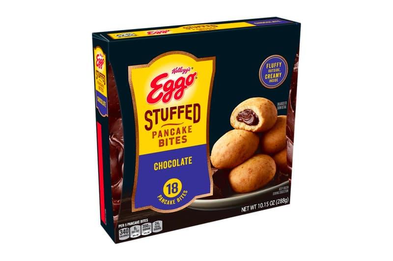 Eggo Stuffed Pancake Bites Launch Kelloggs Taste Review Where Strawberry Apple Chocolate