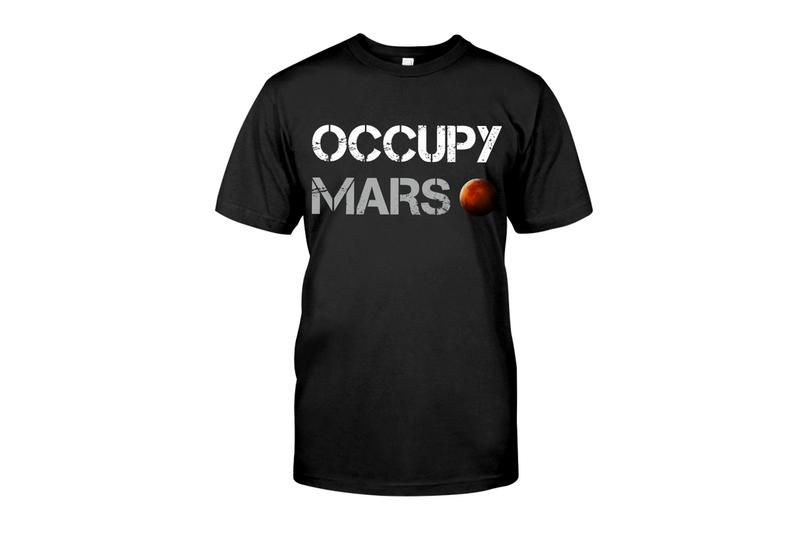 Elon Musk Occupy Mars T-Shirt Buy SpaceX Price Info
