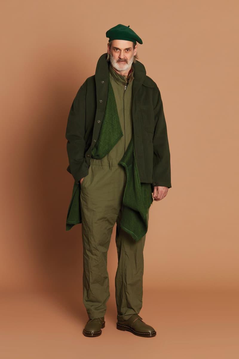 Engineered Garments Fall/Winter 2021 Collection lookbook menswear womenswear fwk fw21