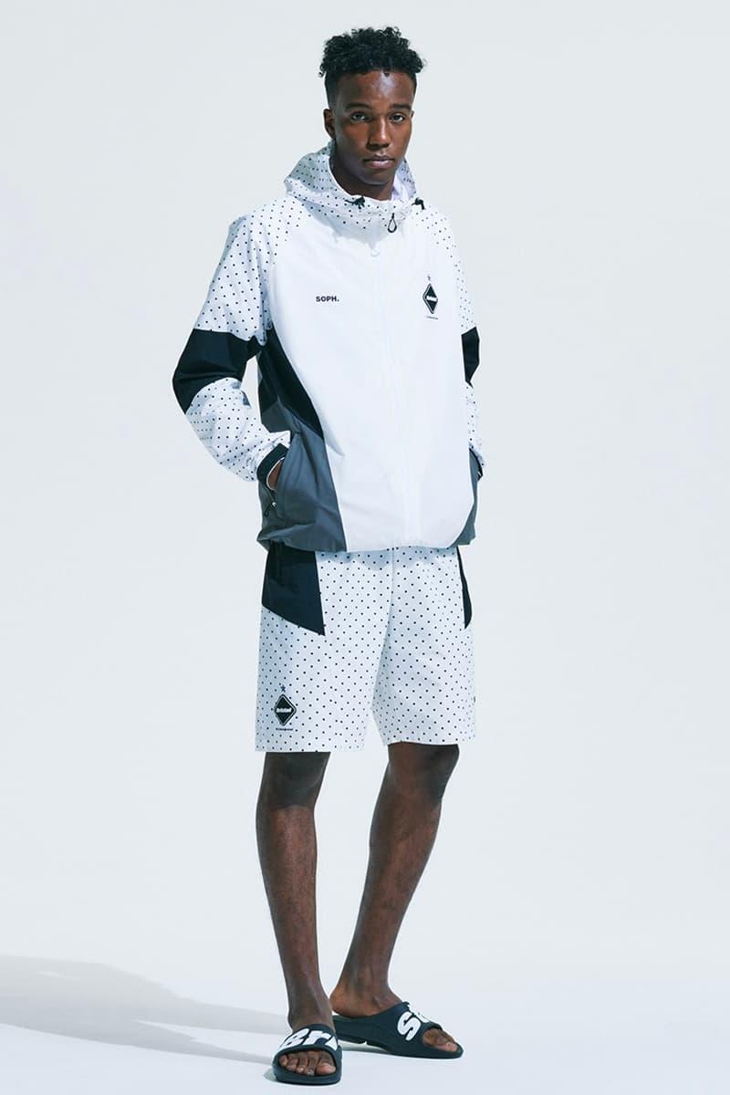 FC Real Bristol Spring Summer 2021 Lookbook menswear streetwear ss21 collection jackets shirts pants trousers sweaters fleece