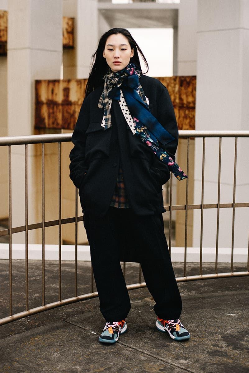 facetasm japan street culture streetwear fashion fall winter 2021 jackets flannel shirt sherpa lined denim jacket oversized asymmetrical