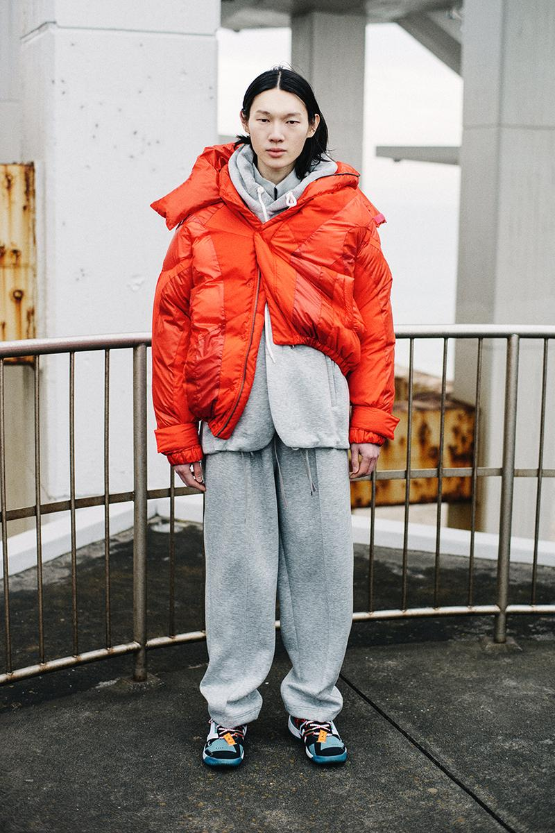 facetasm japan street culture streetwear fashion fall winter 2021 jackets flannel shirt sherpa lined denim jacket oversized asymmetrical