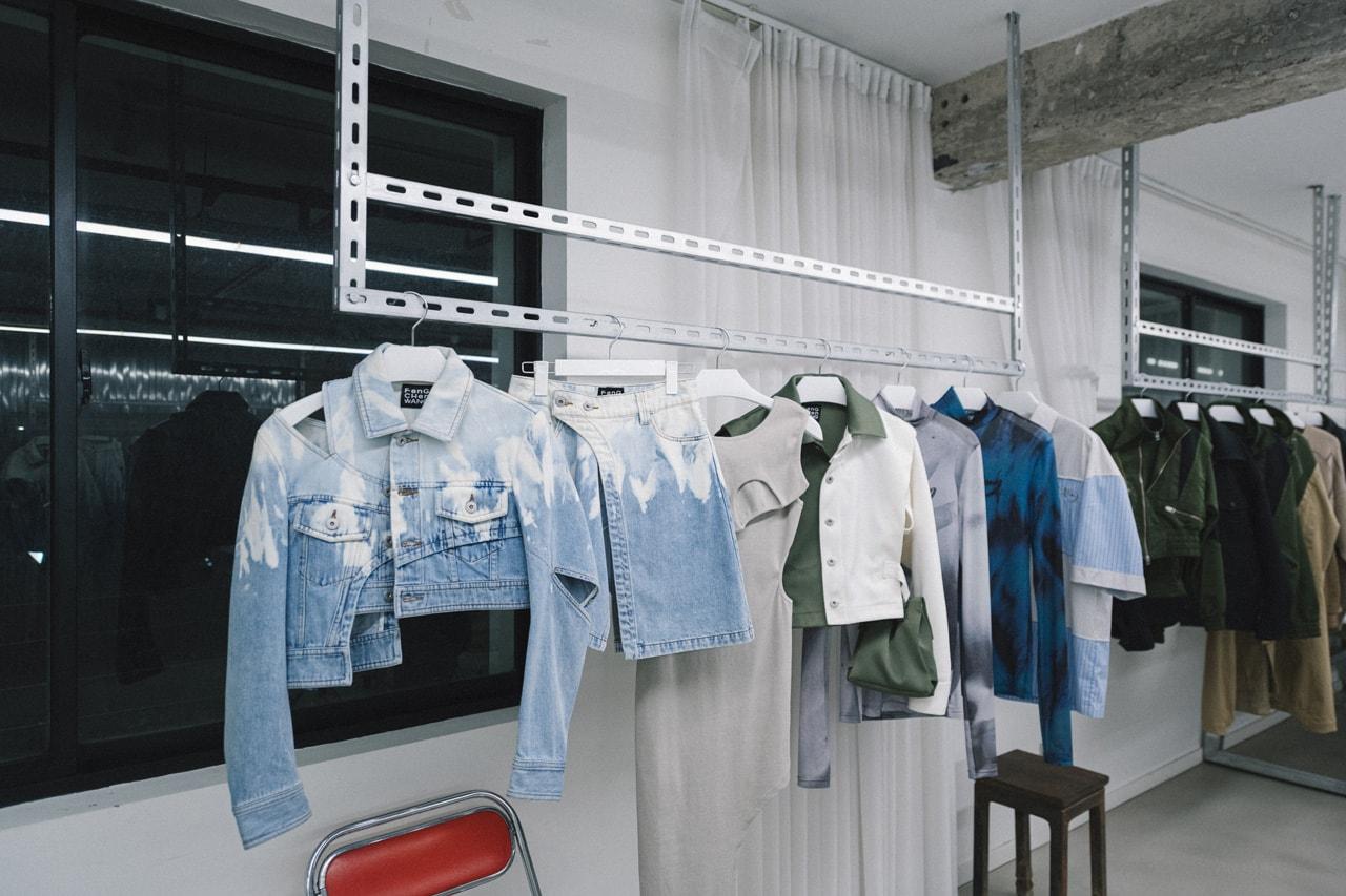 feng chen wang interview studio visit