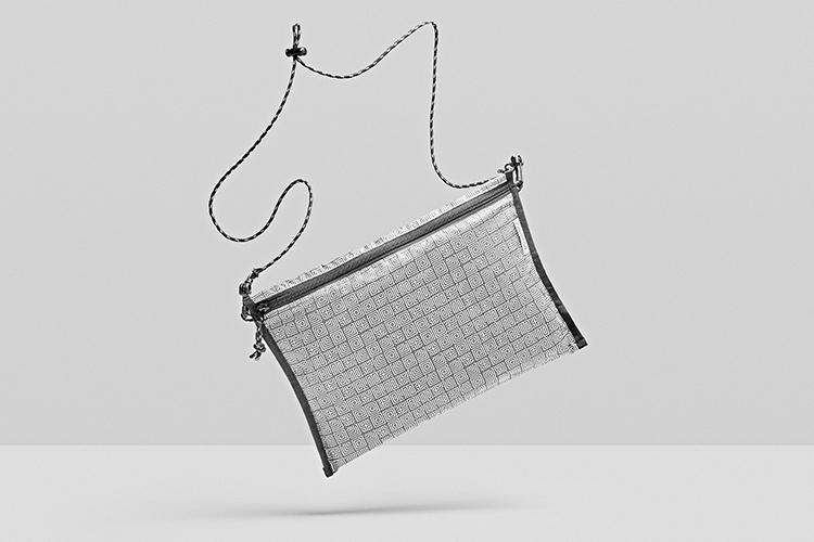 Footpatrol x FABRICK by MEDICOM TOY Tatsuhiko Akashi Japanese Designer Sacoche Waist Bag House Home Indoor Slippers Cushion London Geometric MC Escher Optical Illusion Maze Black White Concrete Jungle