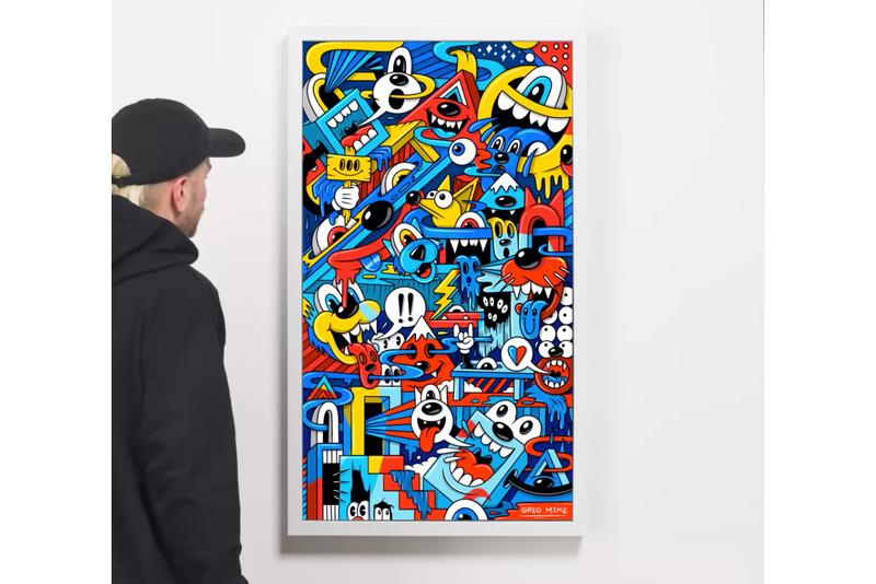 greg mike mad can crypto art release nifty gateway