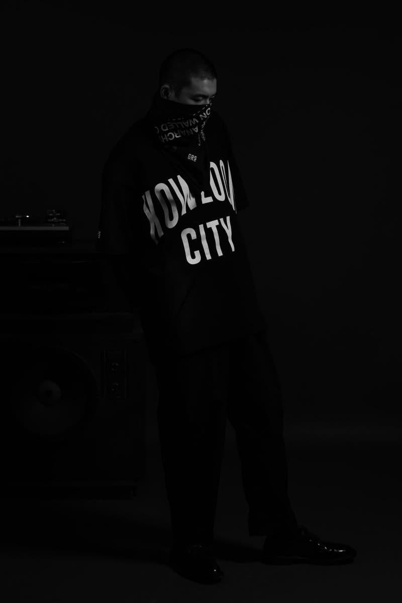 GrowthRing & Supply Kosuke Kawamura Drop 03 Lookbook Kowloon Walled City Akira Tokyo Japan Hong Kong Fashion Parka GRS style