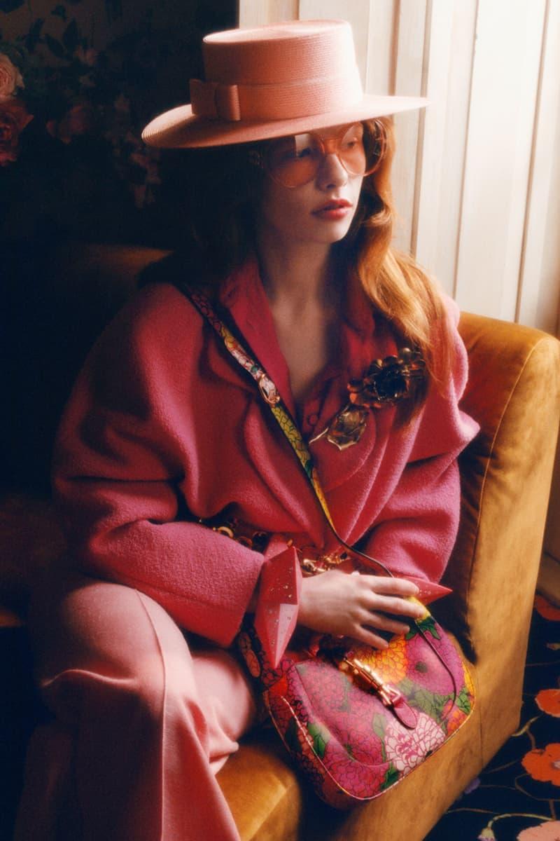 ken scott floral patterns gardens gucci epilogue collection alessandro michele release details information menswear womenswear
